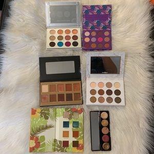 Makeup eyeshadow palettes